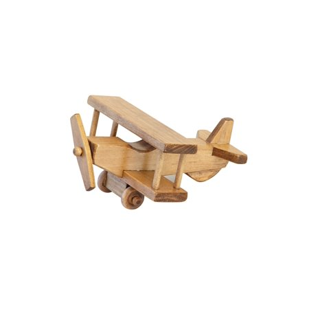 AmishToyBox.com Wooden Toy Airplane, Kid-Safe - Wooden Airplanes