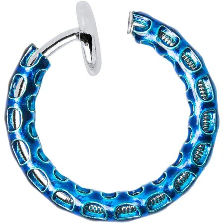 Fake Piercing Non Piercing Jewelry Fit for Nose, Lip, Ear, Cartilage Good for Everybody (Fake Chanel Jewelry)