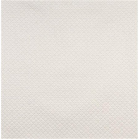Designer Fabrics C464 54 in. Wide Off White Quilted Small Shells Upholstery Fabric
