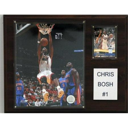 C & I Collectables 1215CBOSH NBA 12 X 15 Plaque Chris Bosh Miami Heat Player - image 1 de 1