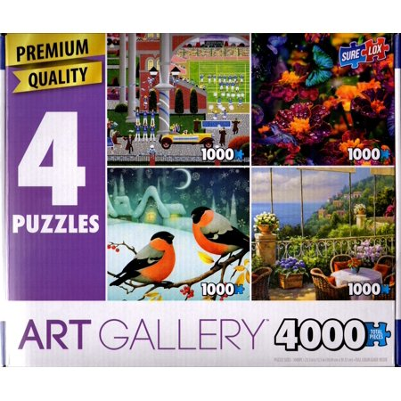 Art Gallery 4000: Homecoming Queen, Dewdrop Sparkle, Bullfinch on a Branch, Terrace - 4000 Animal
