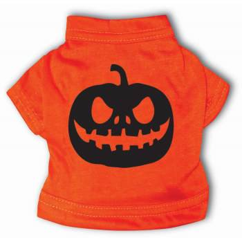 PET T-SHIRT-JACK O'LANTERN-S - Pumpkin Dog Halloween Costumes Uk