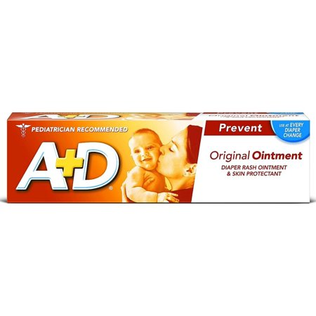 A D Diaper Rash Ointment   Skin Protectant  Original 4 Oz  Pack Of 6