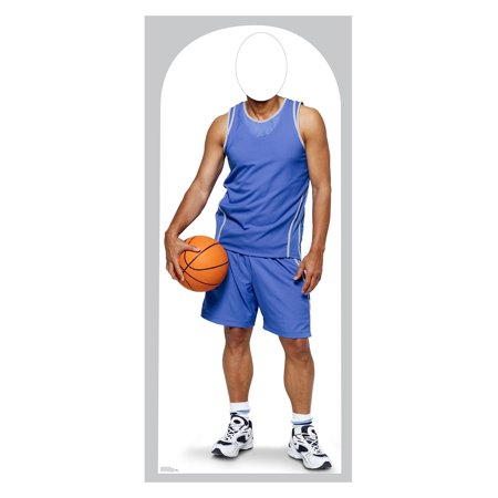 Basketball Player Stand-In Lifesize Standup Standee Cardboard Cutout Poster (Cardboard Maze Halloween)