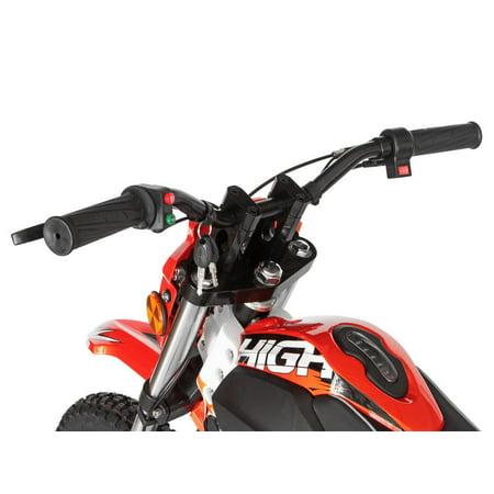 "T4B HIGH99 Kids Starter Mini Dirt Bike, 850W Brushless Electric Motor, Off-Road Scooter, 36V12Ah Motocross 18"" Wheel for Kids 9-yo and above - Orange - image 2 de 7"