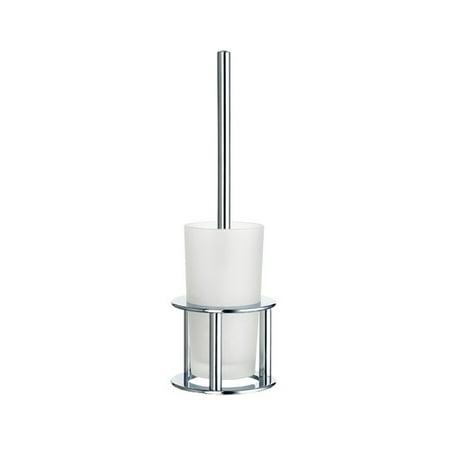 Smedbo Chrome Holder - Smedbo Outline Free Standing Toilet Brush and Holder