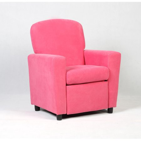 Kids Recliner Sofa Armrest Chair Couch Lounge Children Living Room Furniture Pink