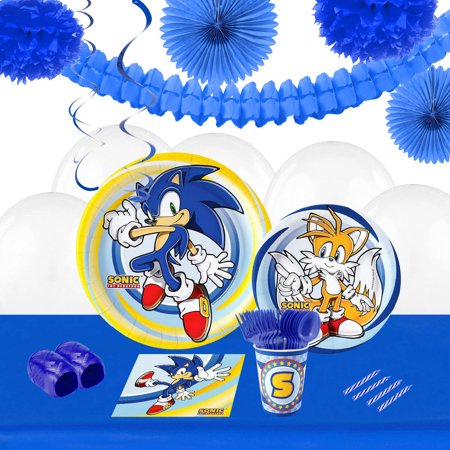 Sonic the HedgeHog 16 Party Pack