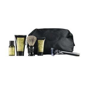 The Art of Shaving, Travel Kit with Morris Park Razor, Unscented, 5 Ct