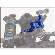 Aluminum Steering Bell-Crank, Blue: RC10B5,B5M,T5M