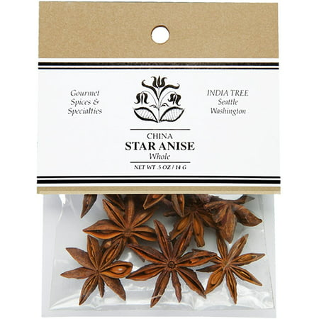 India Tree Anise Star, 0.5-Ounce (Pack of 4)