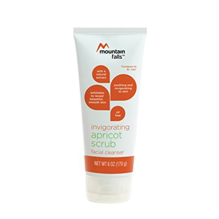 Mountain Falls Invigorating Apricot Scrub Facial Cleanser, Compare to St. Ives, 6 Ounce - image 4 de 4