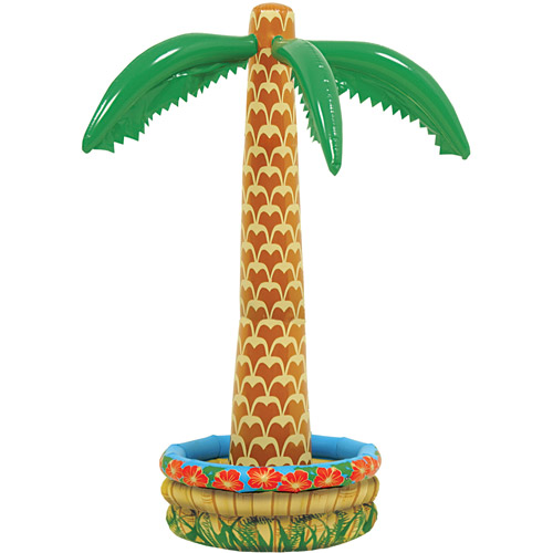 Inflatable Palm Tree Cooler Halloween Accessory