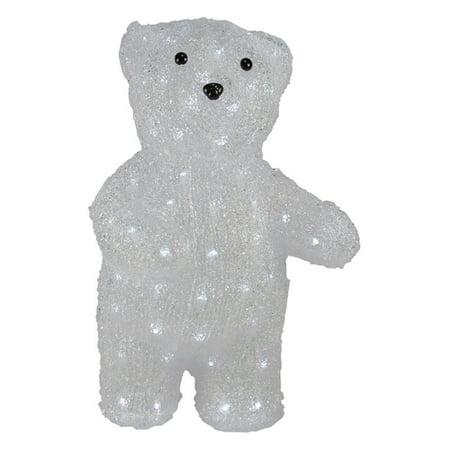 - Northlight 17 in. Commercial Grade Acrylic Polar Bear Light Display