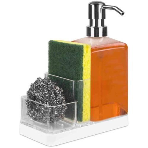 Home Basics Clear Soap Dispenser