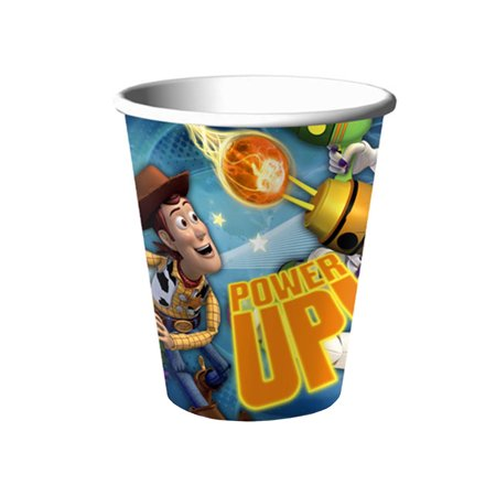 Disney Pixar Toy Story Woody and Buzz Lightyear Power Up! Hallmark Paper Cups 16 - Toy Story Cup