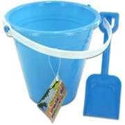 DDI 1335054 Solid Colored Beach Pail with Shovel Case Of 12
