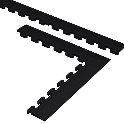 Norsk NSTKBLK Flooring Trim Kits for PVC Tiles, Black