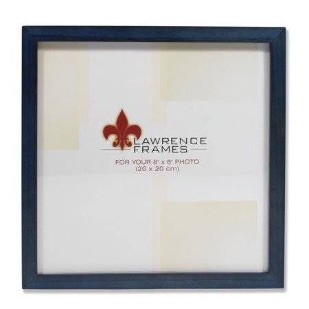 755788 Blue Wood 8x8 Picture Frame