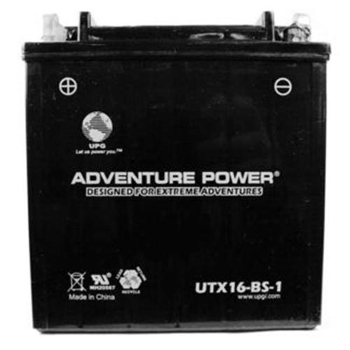 UPG 43029 UTX16-BS-1 Dry Charge AGM Power Sports Battery