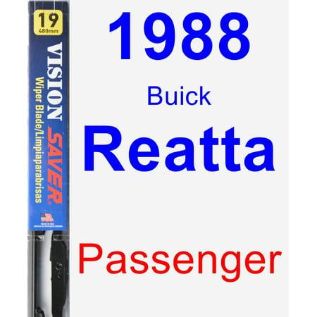 - 1988 Buick Reatta Passenger Wiper Blade - Vision Saver