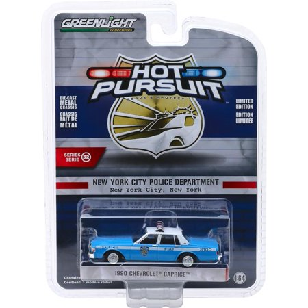 Greenlight Hot Pursuit Series 32 - 1990 Chevy Caprice NY City Police