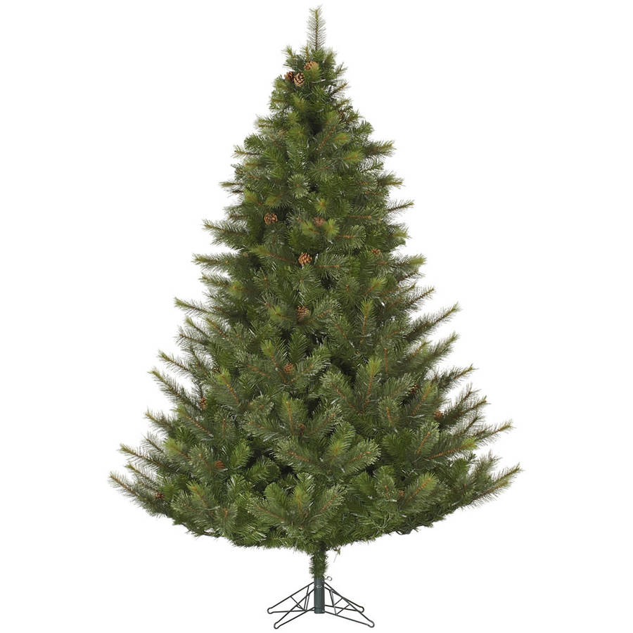 Vickerman Unlit 7.5' Modesto Mixed Pine Artificial Christmas Tree