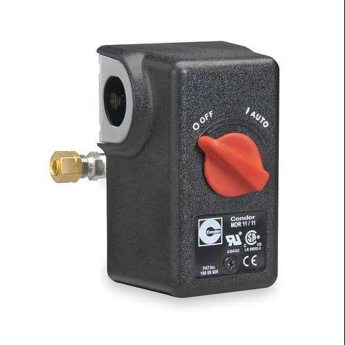 """CONDOR USA, INC 11NA2E Pressure Switch, DPST, 105/135psi, 1/4""""FNPT"""