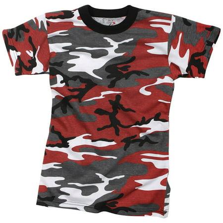 d273baa56 Rothco Kids Camo T-Shirts - Red Camo, X-Small | Walmart Canada