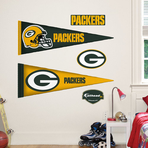 Fathead Jr. NFL Team Pennants Wall Decal