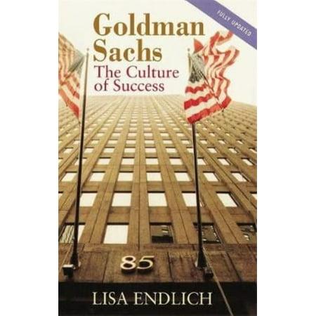 Goldman Sachs  The Culture Of Success  Paperback