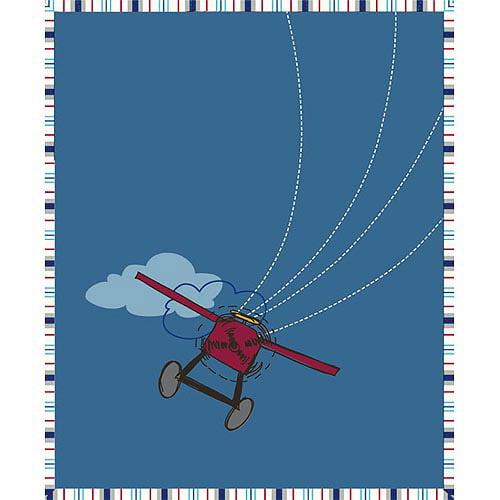 Disney Plane Crazy Throw Blanket