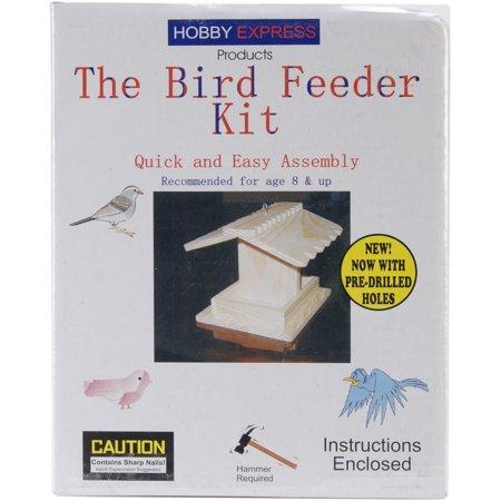 Pinepro The Bird Feeder Kit, Unfinished