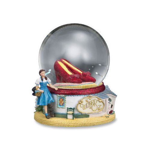 The Wizard of Oz Ruby Slippers Water Globe Multi-Colored