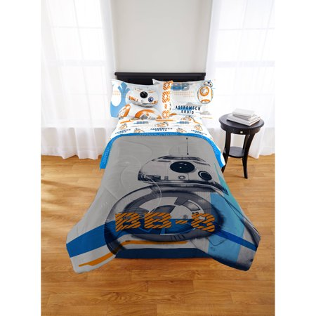 Star Wars The Force Awakens BB 8 Twin Full Comforter