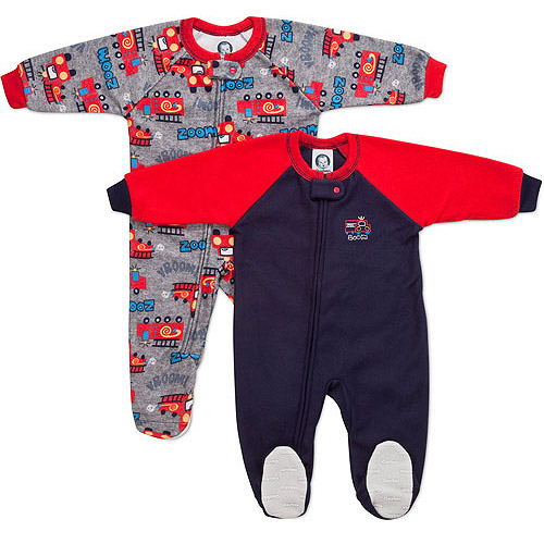 Gerber Baby Boys Blanket Sleepers 2 Pack Walmart Com