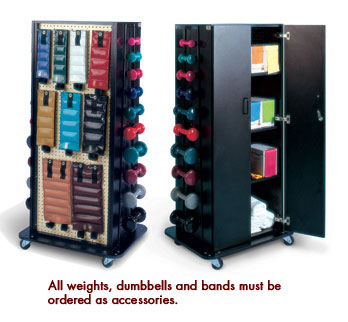 Hausmann Multi-Purpose Weight/Storage Rack