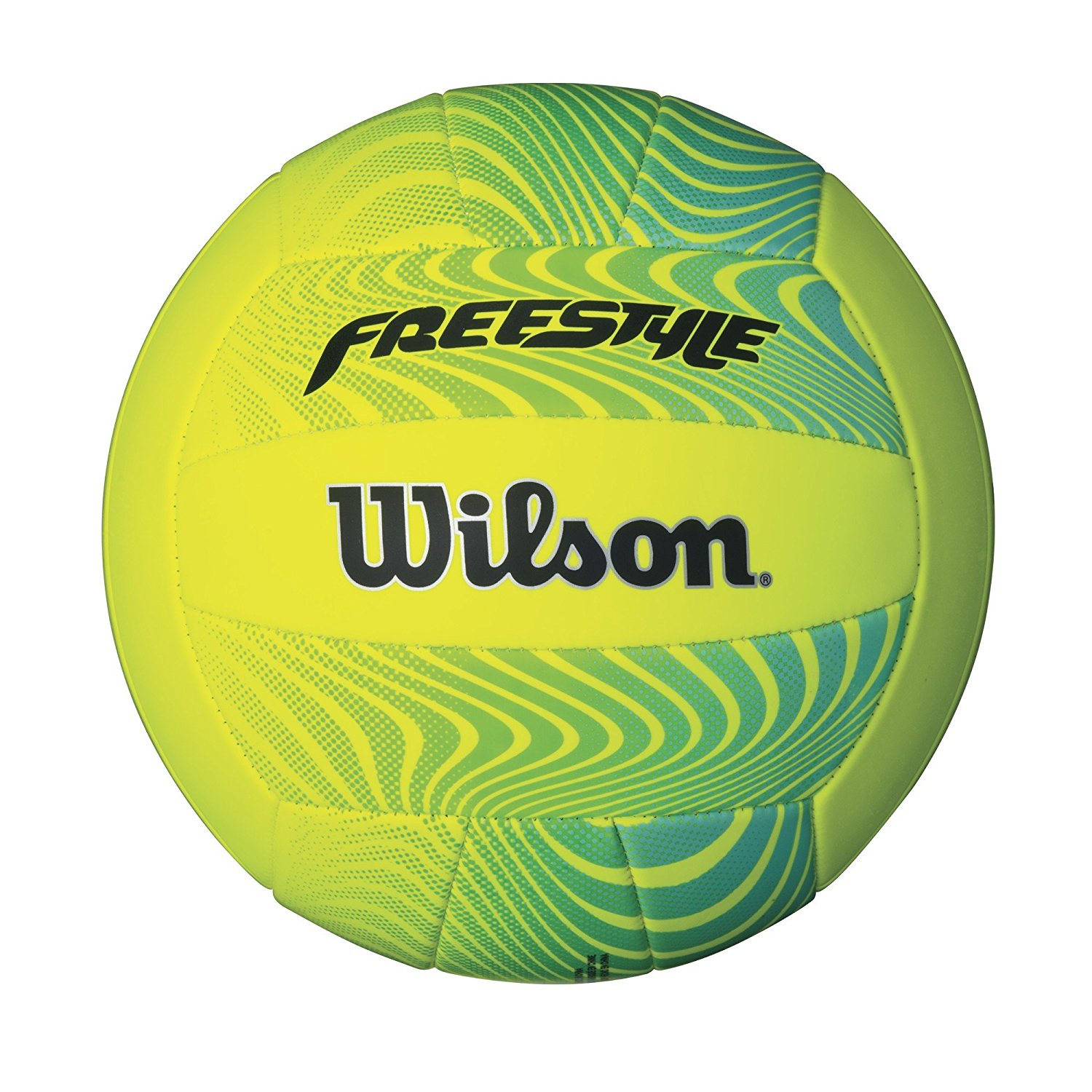 Wilson Freestyle Volleyball Lime