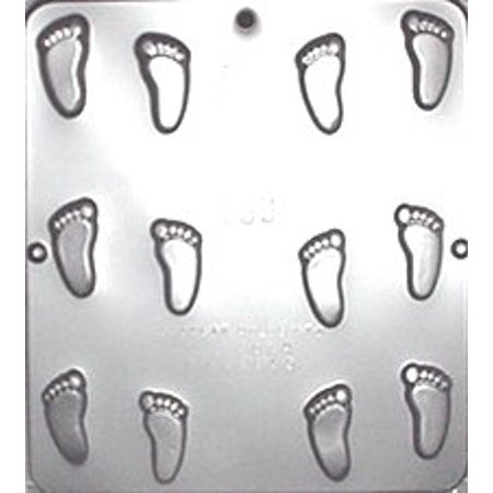 689 Baby Feet Chocolate Candy - Baby Shower Candy Molds