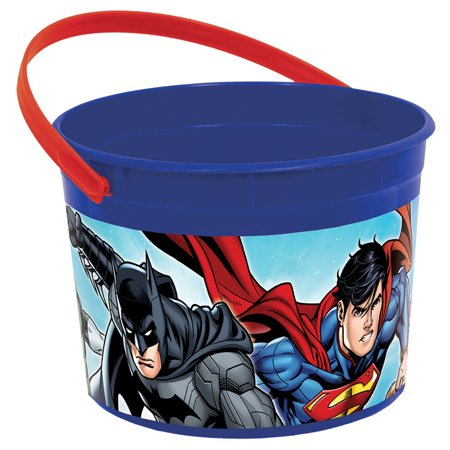 Justice League Favor Container (Each) - Party Supplies - Justice League Birthday Party