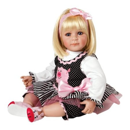 "Adora Toddler Oink 20"" Girl Weighted Doll Gift Set for Children 6+ Huggable Vinyl Cuddly Snuggle Soft Body Toy"