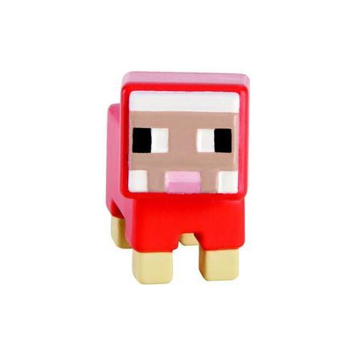 Mattel Minecraft Mini Series Red Sheep figurine action figure