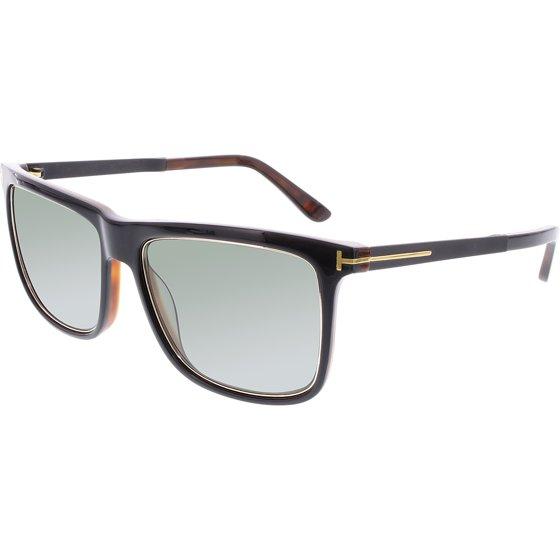 2a8127d4067ec Tom Ford - Women s Polarized Karlie FT0392-01R-57 Black Square Sunglasses -  Walmart.com
