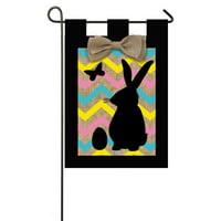 Garden Sub Burlap Easter Flag