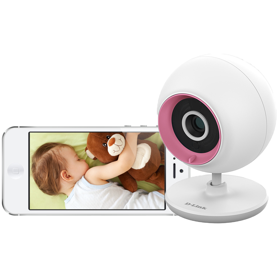 D-Link DCS-700L Wireless Day/Night Baby Monitor Camera w/Audio & Remote Viewing