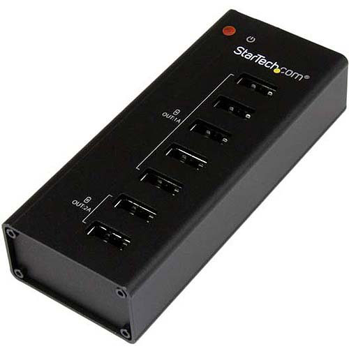 StarTech 7-Port Dedicated USB Charging Station