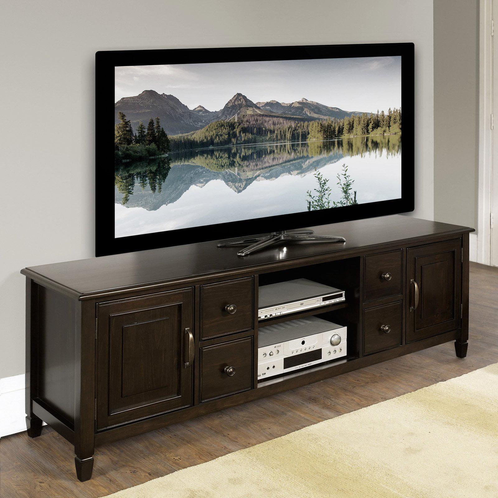 Simpli Home Connaught 72 Wide Tv Stand Walmartcom