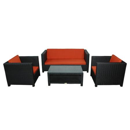 Anderson Teak Coto De Casa Deep Seating Conversation Set ()