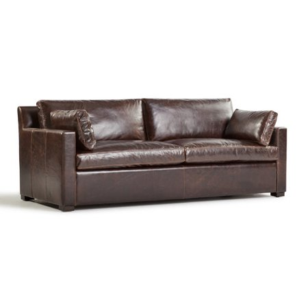 Westland And Birch Verona Marius Genuine Leather Sofa