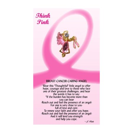 - Thoughtful Little Angels 521 Breast Cancer Awareness Pin